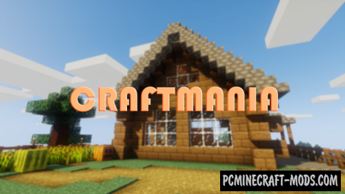 CraftMania 16x16 Resource Pack For Minecraft 1.14.4