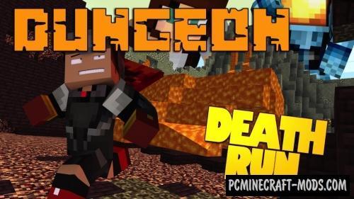 Dungeon Deathrun Map For Minecraft