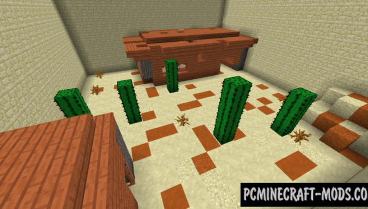 Escape Room 2: Themed Map For Minecraft