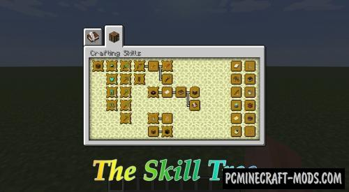 The Skill Tree Mod For Minecraft 1.12.2