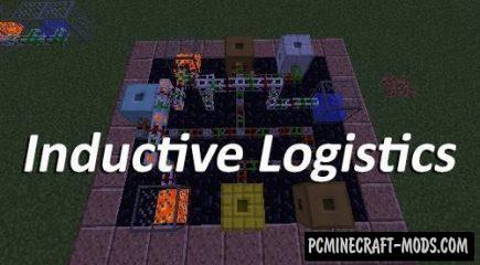 Inductive Logistics Mod For Minecraft 1.12.2, 1.11.2