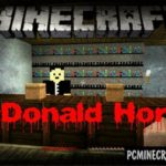 Man in black Horror Minecraft PE Map 1.8 iOS/Android