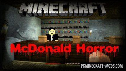 McDonald Horror Adventures Minecraft PE Map 1.4.0, 1.2.16, 1.2.13