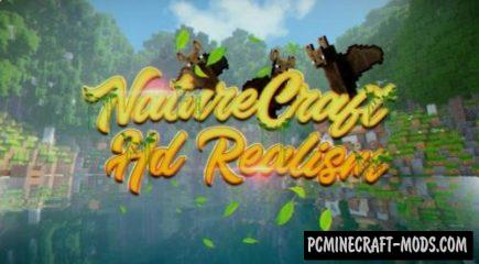 NatureCraft HD Realism Resource Pack For Minecraft 1.12.2