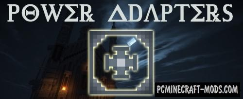 Power Adapters Mod For Minecraft 1.12.2