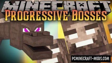 Progressive Bosses Hardcore Mod For Minecraft 1.14.4, 1.14.3