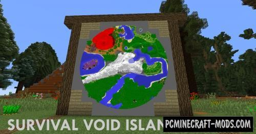 Survival Void Island Map For Minecraft