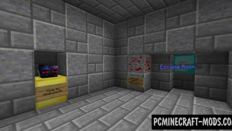 Escape Room 2 Themed Map For Minecraft 1 14 4 1 14 3