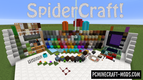 SpiderCraft Resource Pack For Minecraft 1.12.2