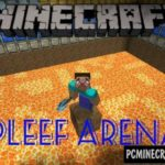 Basketball Mini-Game Minecraft PE Bedrock Map 1.5.0, 1.4.0
