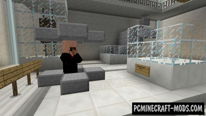 Spy: Large RPG Minecraft PE Bedrock Map 1.5.3, 1.4.0, 1.2.16