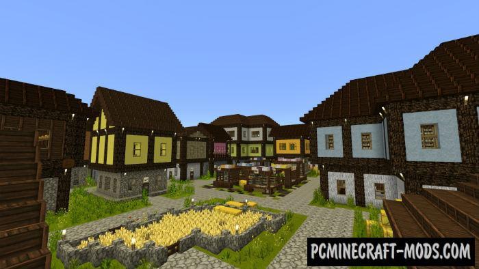 The King Returns Adventure Minecraft PE Map 1.9, 1.8, 1.7
