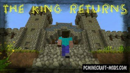 The King Returns Adventure Minecraft PE Map 1.5.3, 1.4.0, 1.2.16