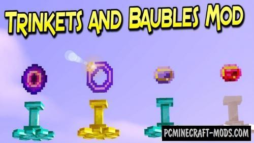 Trinkets and Baubles - Armor Mod For Minecraft 1.12.2