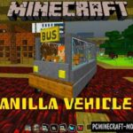 New Vehicle: Ford Mustang Minecraft PE Mod 1.6.0, 1.5.2