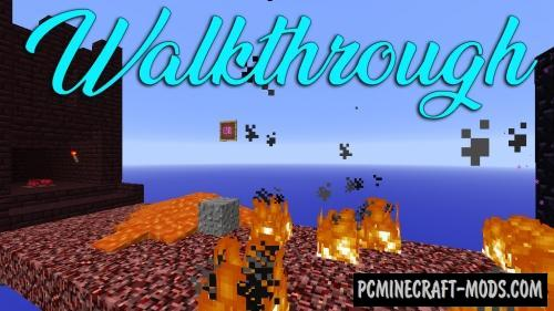 WalkThrough Map For Minecraft