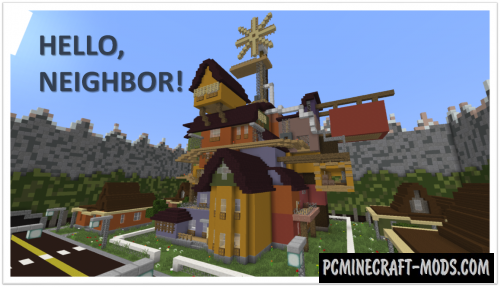 Hello, Neighbor! Release Map For Minecraft