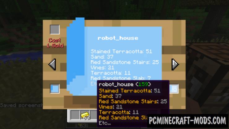 Schematics Mod For Minecraft 1.12.2