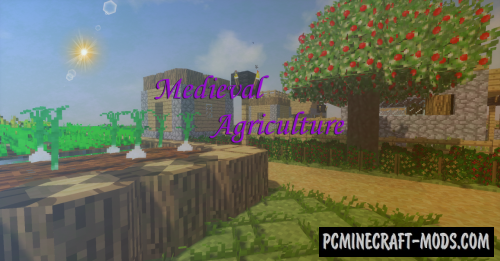 Medieval Agriculture Mod For Minecraft 1.12.2