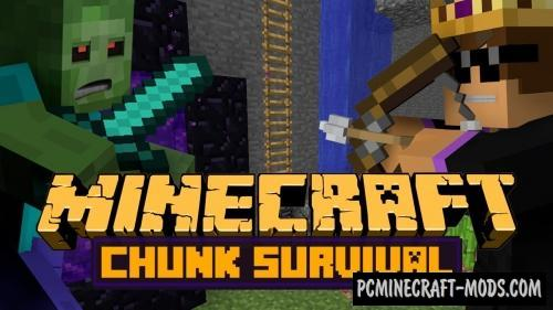 1 Chunk Survival Map For Minecraft