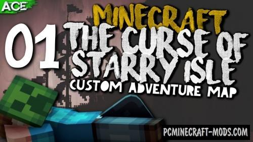 The Curse of Starry Isle Map For Minecraft