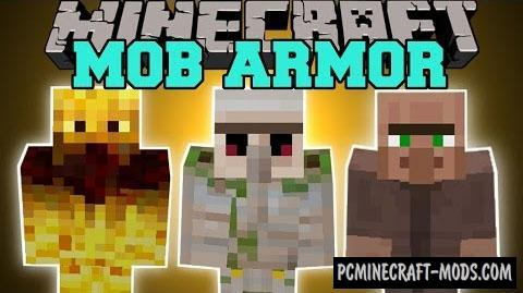 Mob Armor Mod For Minecraft 1.12.2, 1.7.10
