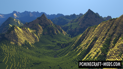 Mountain Landscape Map For Minecraft