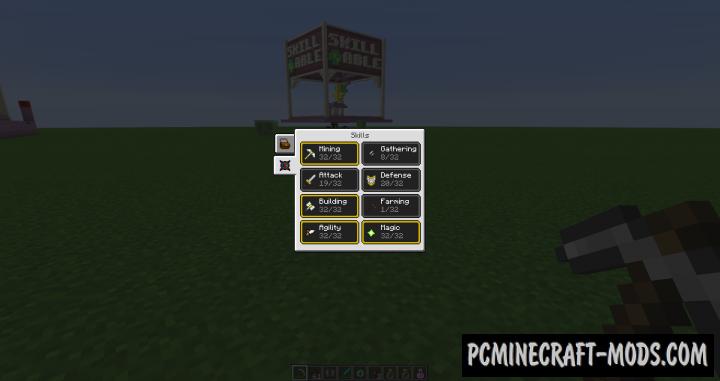 Reskillable Mod For Minecraft 1.12.2
