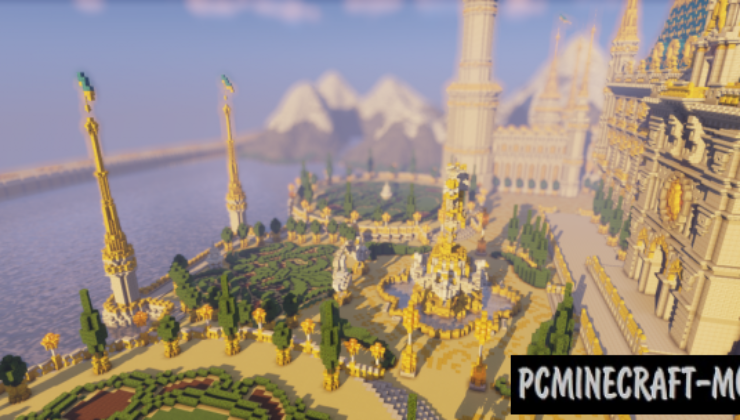 Rumpelstiltskin's Castle Map For Minecraft