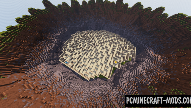 The Labyrinth Map For Minecraft