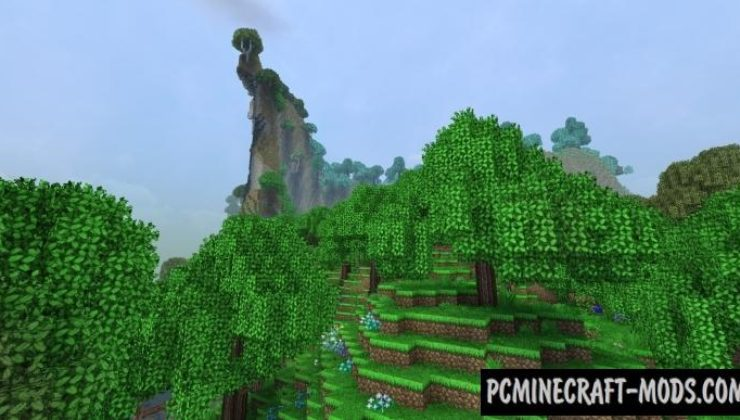 Dynamic Trees - Traverse Compat Mod For Minecraft 1.12.2