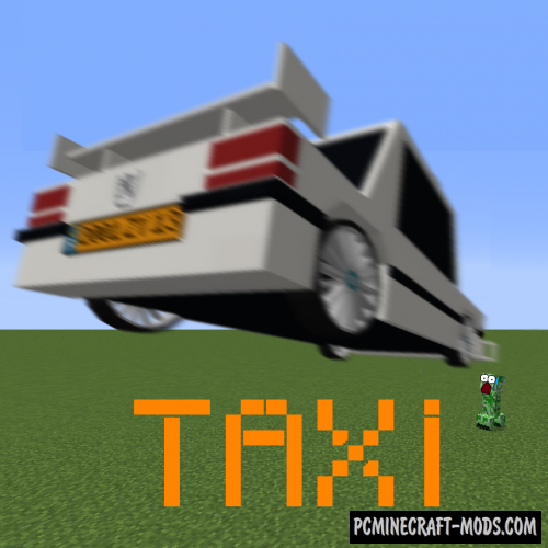 Taxi Mod For Minecraft 1.12.2