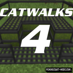 Catwalks 4 - Decor, Mech Mod For Minecraft 1.12.2