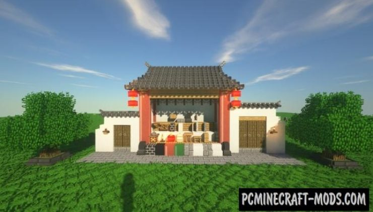 ChineseWorkshop Mod For Minecraft 1.12.2, 1.10.2