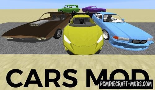 Cars and Engines Mod For Minecraft 1.12.2, 1.10.2