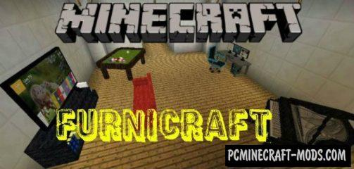 Furnicraft Addon For Minecraft PE 1.14.0, 1.13.0