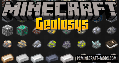 Geolosys - Technology Mod For Minecraft 1.16.5, 1.12.2
