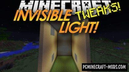 Lighting Wand - Invisible Light Mod MC 1.16.1, 1.15.2, 1.14.4