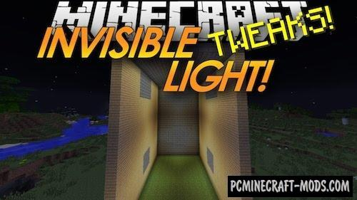 Lighting Wand - Invisible Light Mod For MC 1.15.2, 1.14.4