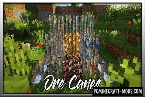 Ore Canes - Farm Mod For Minecraft 1.15.2, 1.14.4, 1.12.2