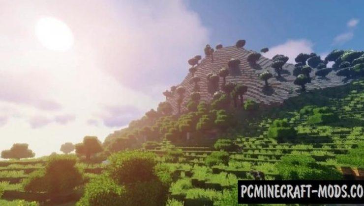 Realistic World Generation Mod For Minecraft 1.12.2