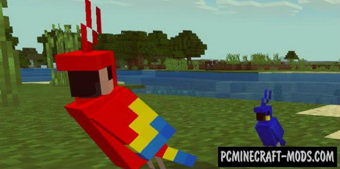 VanillaEX Minecraft PE Bedrock Mod 1.9.0, 1.8.0, 1.7.0