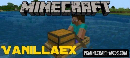 VanillaEX Minecraft PE Bedrock Mod 1.5.0, 1.4.4