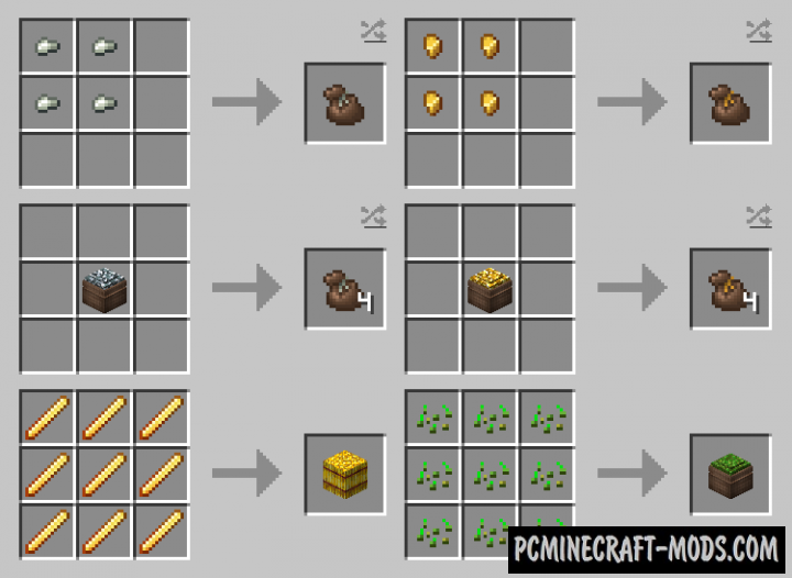 Compressed Items Mod For Minecraft 1.13.2, 1.12.2