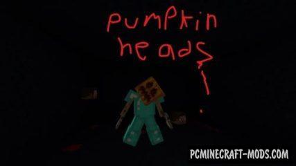 Pumpkin Heads Map For Minecraft