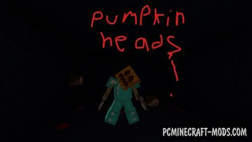 Pumpkin Heads Map For Minecraft