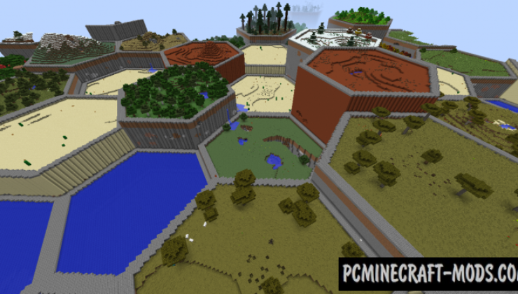 Hex Lands Mod For Minecraft 1.12.2