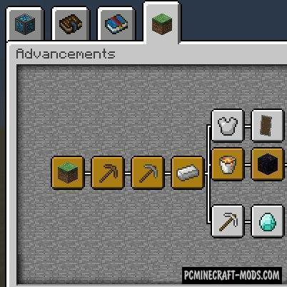 Better Advancements - GUI Mod Minecraft 1.16.5, 1.14.4, 1.12.2
