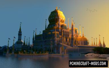 Rumpelstiltskin's Castle Map For Minecraft