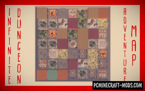Infinite Dungeon Map For Minecraft